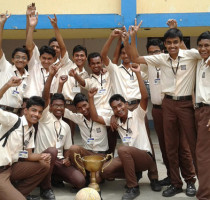 Std.-IX-Students-with-the-most-coveted-prize-ie.-Winner-of-Football-tournament-held-among-the-High-School-Students.