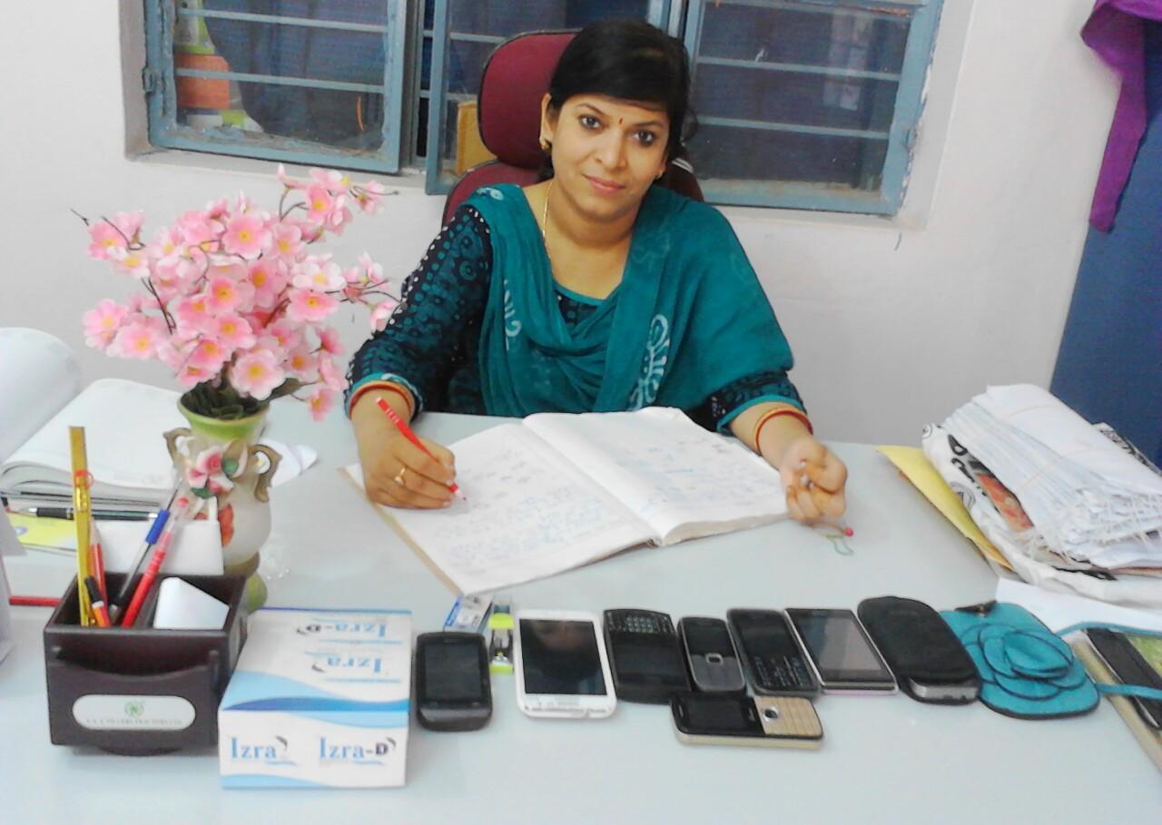 PRINCIPAL MRS. GITHANJALI TRIPATHY